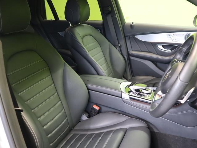 GLC220d 4マチックスポーツ(本革仕様)4WD フルセグHDDナビ 360度カメラ サンルーフ 黒本革Pシートヒーター レーダーセーフィ ブルメスター パフュームアトマイザー Pバックドア 革巻ステア キーレスゴー LED 19AW 9AT(38枚目)