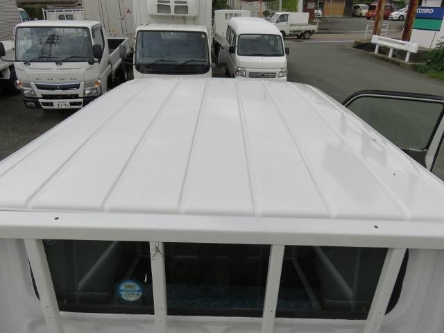 三菱ふそう キャンター 1.25t Wキャブ 6人乗り 全低床