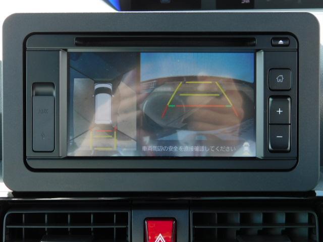 パノラマモニターは全体を上から見た感じで、バックや駐車時の強い見方♪