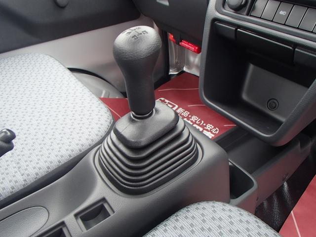 KC 4WD 届出済未使用車 禁煙車 5速マニュアル エアコン パワステ 三方開(25枚目)