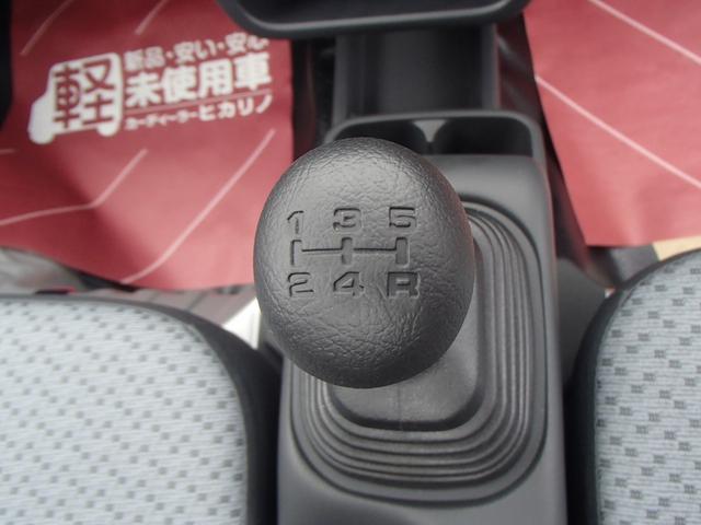 KC 4WD 届出済未使用車 禁煙車 5速マニュアル エアコン パワステ 三方開(26枚目)