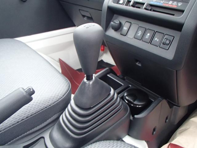 スタンダードSAIII 4WD 届出済未使用車 5速MT 衝突被害軽減ブレーキ エアコン パワステ 三方開(27枚目)