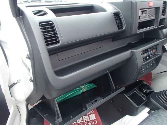 スタンダードSAIII 4WD 届出済未使用車 5速MT 衝突被害軽減ブレーキ エアコン パワステ 三方開(33枚目)