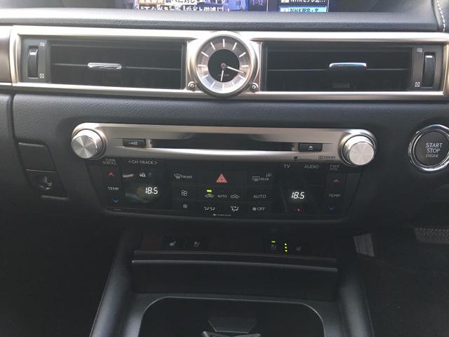 レクサス GS GS350 Iパッケージ HDDナビ 地デジTV 本革
