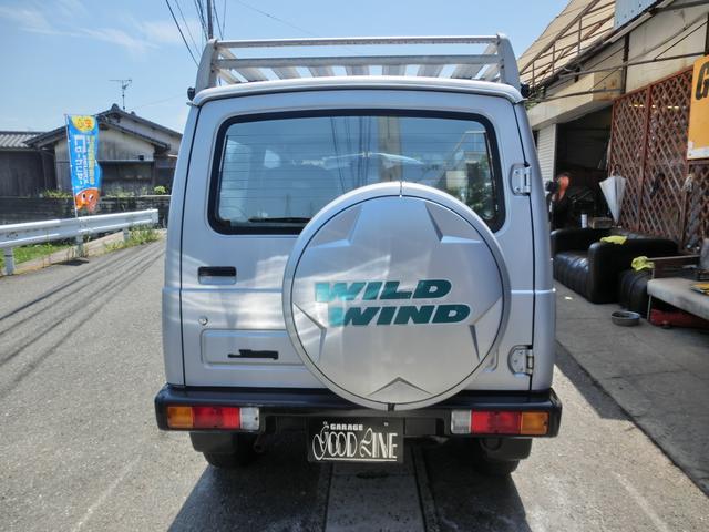 スズキ ジムニー ワイルドウインド 4WD オートマ ターボ