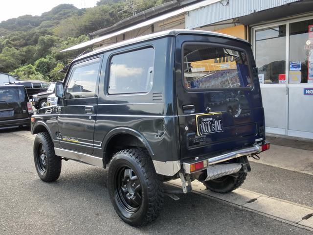 スズキ ジムニー ワイルドウインドリミテッド 5速マニュアル車 4WD