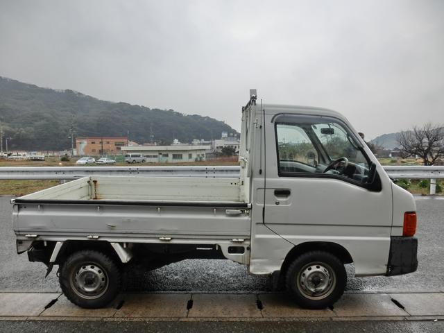 スバル サンバートラック JA 4WD 6速マニュアル エアコン