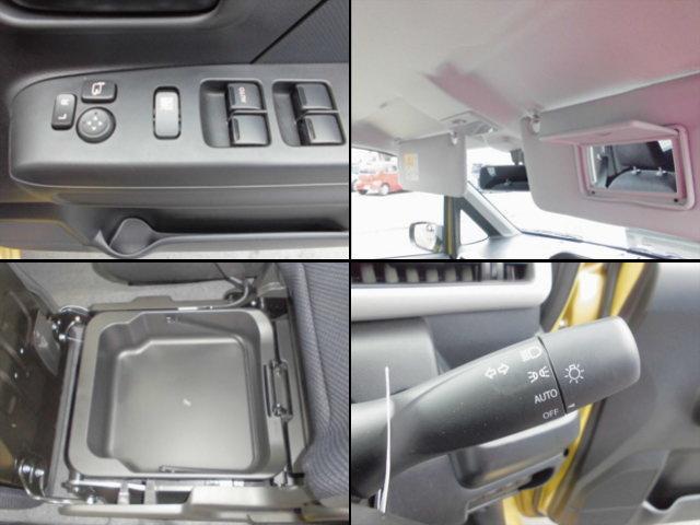 【シートアンダーボックス】・【バニティミラー】・【パワーウィンドウ】など充実装備でドライブをアシスト。