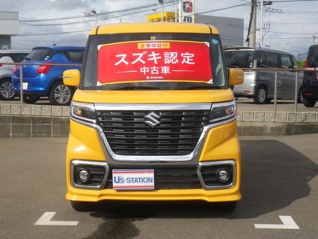 「スズキ」「スペーシアカスタム」「コンパクトカー」「佐賀県」の中古車5