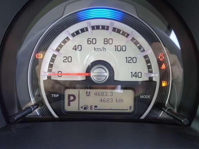 視認性のよいメーターパネル。運転状況によって変化するLEDがドライブをいっそう楽しくしてくれます。
