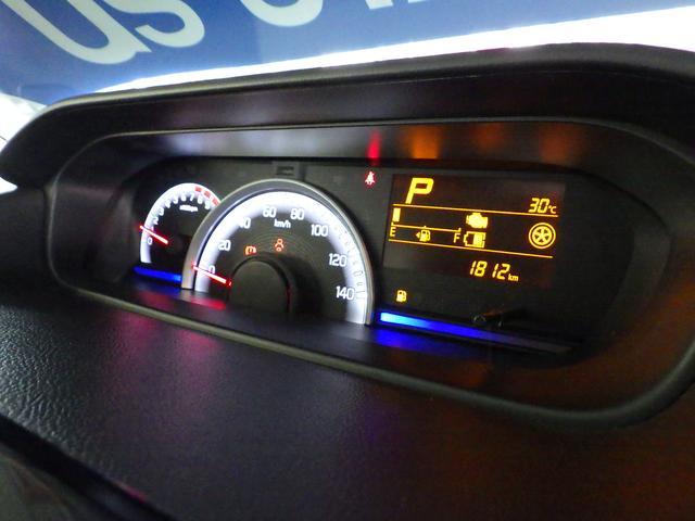 エコドライブ採点や平均燃費などを表示する☆マルチインフォメーションディスプレイ☆光の色でエコドライブをサポートする☆ステータスインフォメーションランプ付きメーター☆