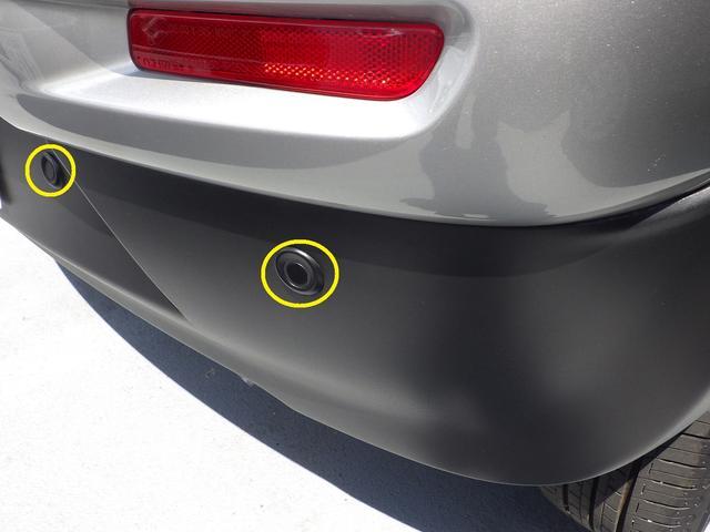 後退時ブレーキサポート超音波センサーで後方の障害物との距離を測りブザーで障害物の接近をお知らせします。後方の障害物との衝突の可能性が高まると自動でブレーキが作動して衝突の回避または衝突軽減を図ります。