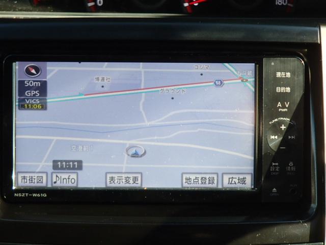 トヨタ ノア Siレイッシュ後期SDナビフルセグRモニタ両側自動2年保証付