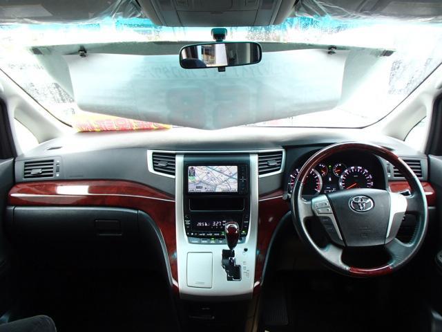 トヨタ ヴェルファイア Z SDナビフルセグDVDビデオ後席モニタ自動ドア2年保証付
