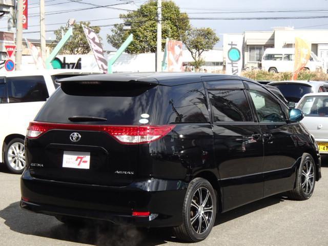 トヨタ エスティマ アエラス後期HDDナビフルセグRモニBカメ両側自動2年保証付