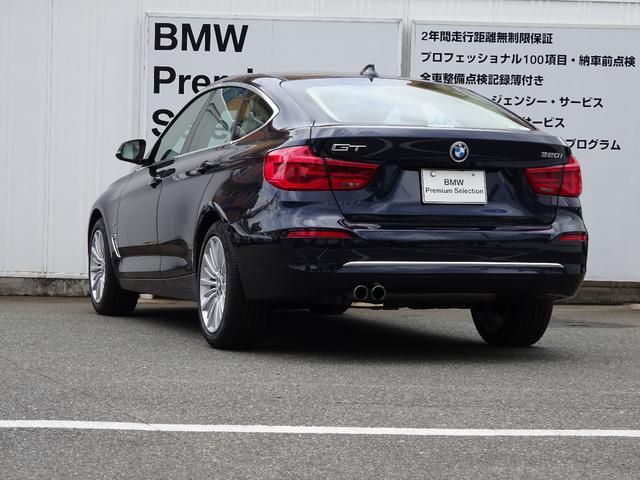 BMW BMW 320iグランツーリスモ ラグジュアリー デモカー 禁煙車