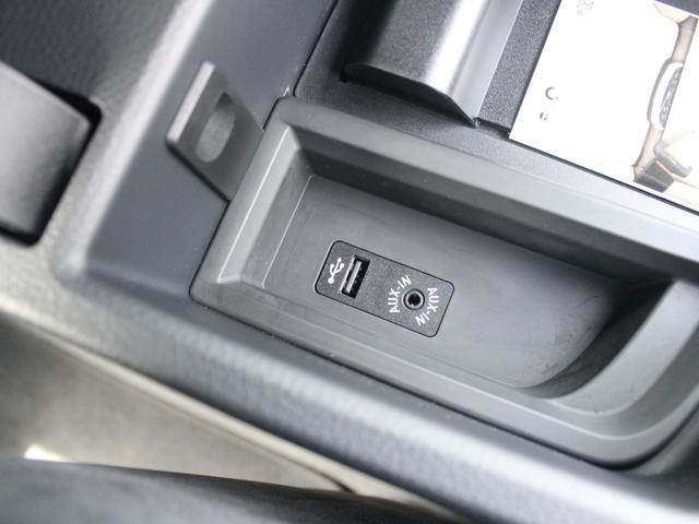 AUX、USBインターフェイス