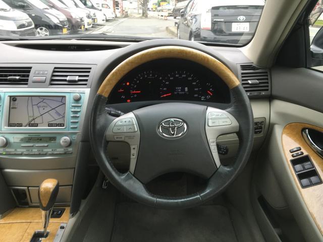 トヨタ カムリ G ディグニスエディション 革シート HDDナビ ETC