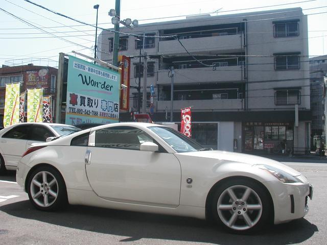 日産 フェアレディZ バージョンT 黒皮