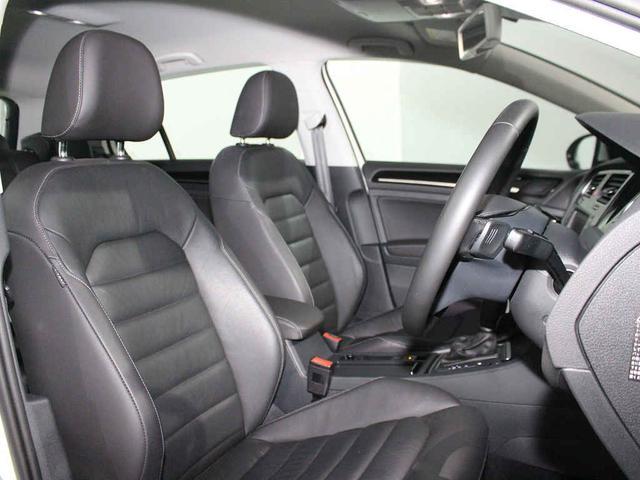 フォルクスワーゲン VW ゴルフ TSI Highline BlueMotion Technology Leather Seet