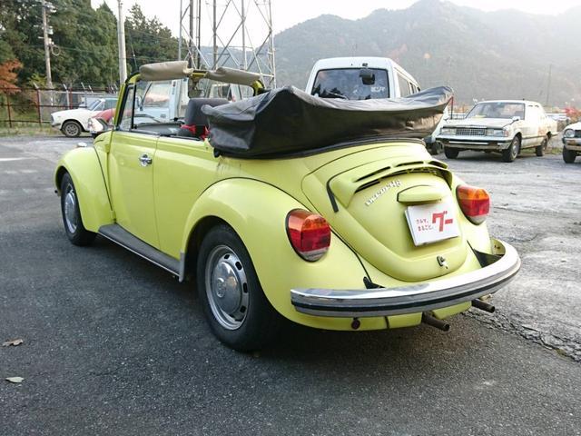 「フォルクスワーゲン」「ビートル」「オープンカー」「福岡県」の中古車7