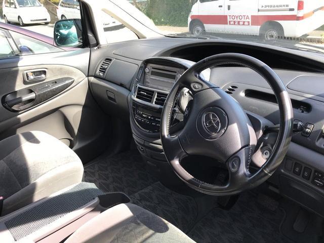 トヨタ エスティマT アエラス Sエディション 両側電動スライドドア キーレス