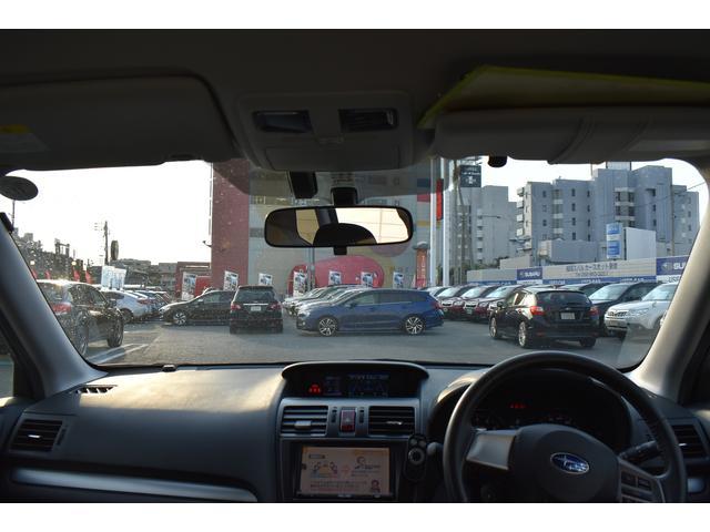 フロントビューは視認性も良く、女性の方でも、運転しやすいかと思います。