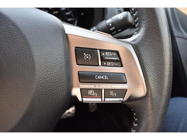 ステアリング右側にアイサイト操作スイッチを装備。運転中などに操作が可能です。