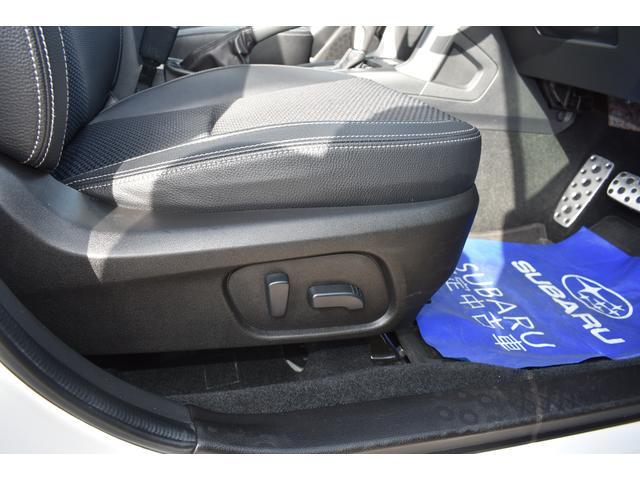電動シート採用で細かい微調整ができ、ドライビングポジションにしっかり合わせることで疲労軽減や事故防止につながります♪♪
