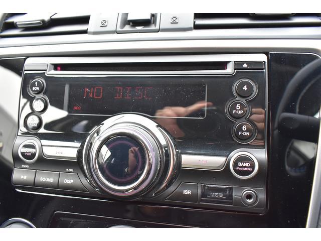 オーディオは、CDデッキが装備されています。