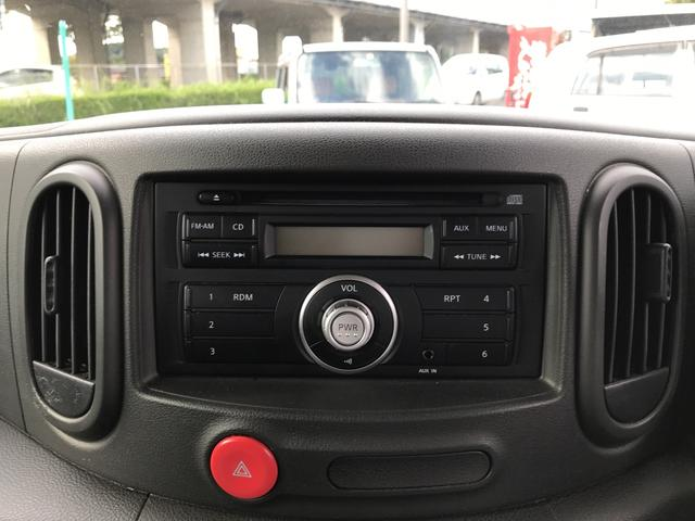 日産 キューブ 15X インディゴ+プラズマ ETC スマートキー ベンチ