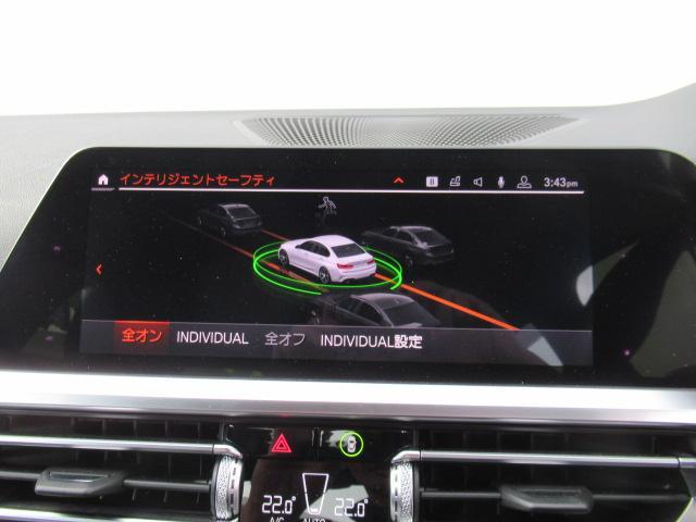 330iMスポーツハイラインPKG黒革シート現行モデル1オナ(13枚目)