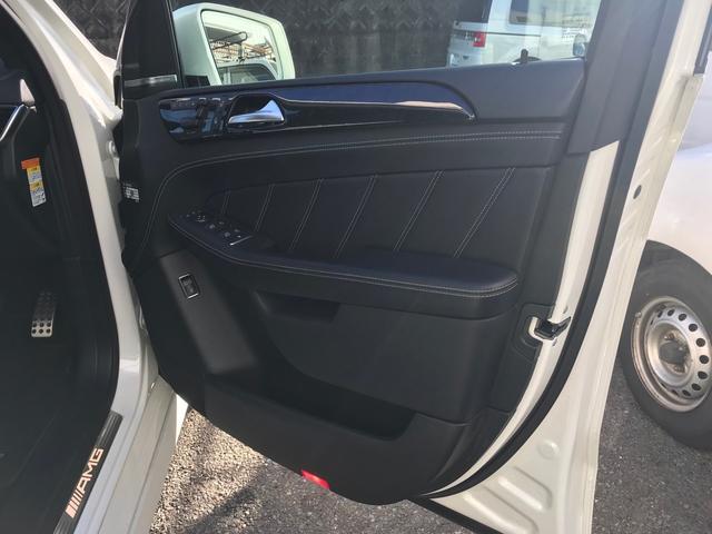 ML63 AMG ブラックレザーシート シートヒーター ベンチレーター メモリー付きパワーシート パノラミックスライディングルーフ 電動テールゲート ナビ フルセグTV クリアランスソナー 純正21インチナビ(15枚目)