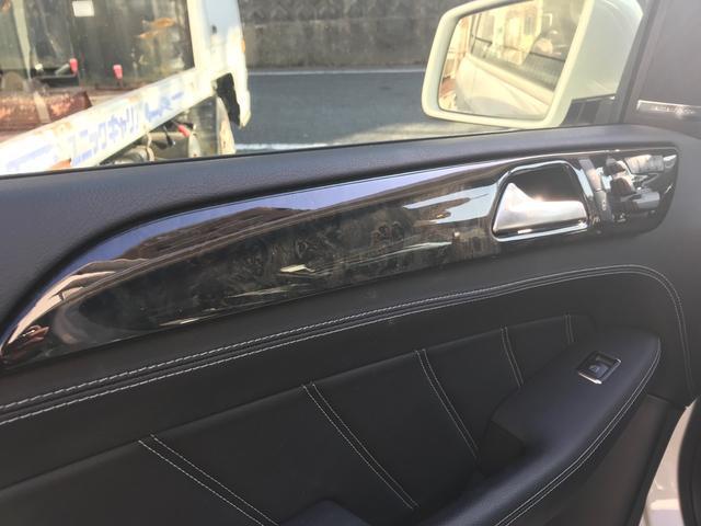 ML63 AMG ブラックレザーシート シートヒーター ベンチレーター メモリー付きパワーシート パノラミックスライディングルーフ 電動テールゲート ナビ フルセグTV クリアランスソナー 純正21インチナビ(21枚目)