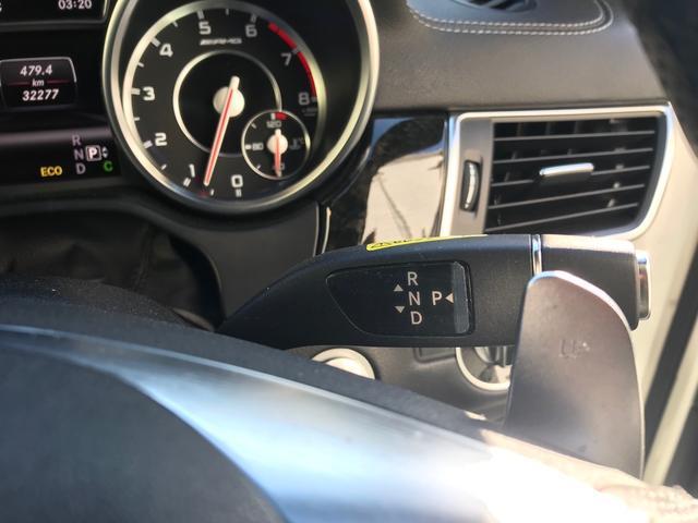 ML63 AMG ブラックレザーシート シートヒーター ベンチレーター メモリー付きパワーシート パノラミックスライディングルーフ 電動テールゲート ナビ フルセグTV クリアランスソナー 純正21インチナビ(33枚目)
