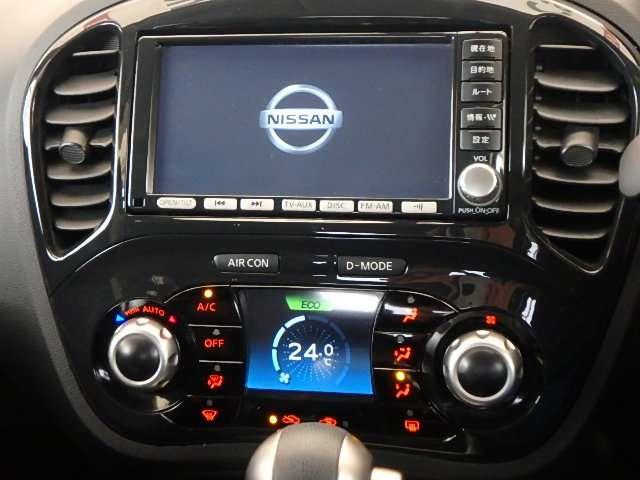 日産 ジューク 1.5 15RX タイプV メモリーナビ フルセグTV リヤカメ
