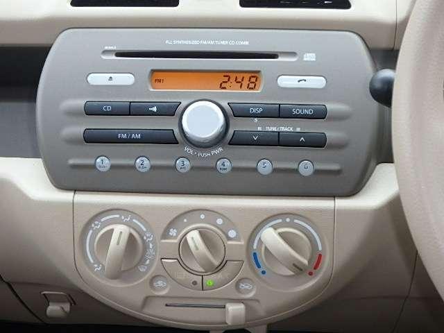 スズキ アルト F 純正一体型CDコンポ キーレスキー