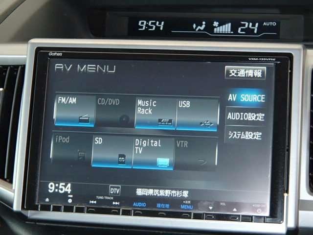ホンダ ステップワゴンスパーダ Z 純正メモリーナビ 7速パドル 両側Pドア