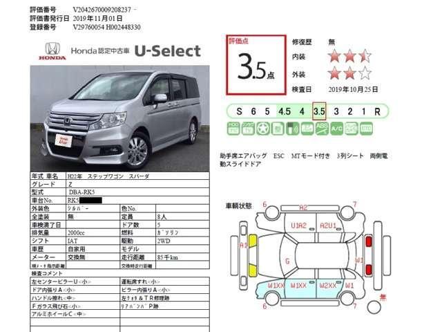 「ホンダ」「ステップワゴンスパーダ」「ミニバン・ワンボックス」「佐賀県」の中古車9