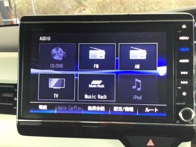 G・Lホンダセンシング ホンダ純正メモリーナビ フルセグTV 地デジ アイスト AC ナビTV ETC付 LEDヘッド メモリーナビ 横滑り防止装置 両側スライド片側電動 スマートキー 盗難防止システム キーフリー CD(11枚目)