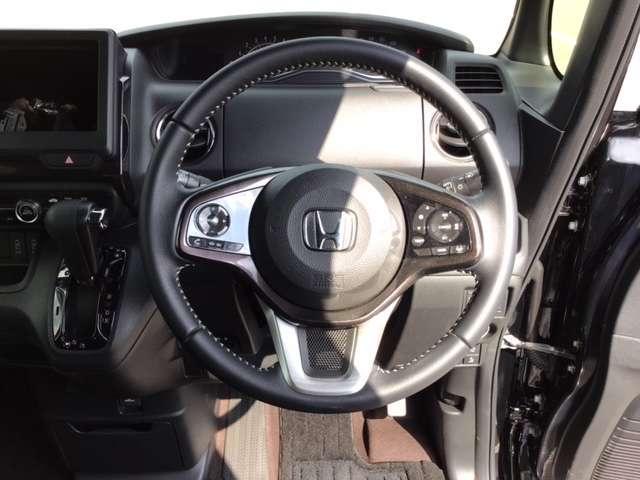 G・Lターボホンダセンシング ドラレコ ホンダセンシング エアロ キーフリー ESC LEDヘッド ターボ車 クルコン ETC スマートキー アルミ ベンチシート アイドリングストップ 盗難防止装置 ABS 両側自動D エアバック(12枚目)