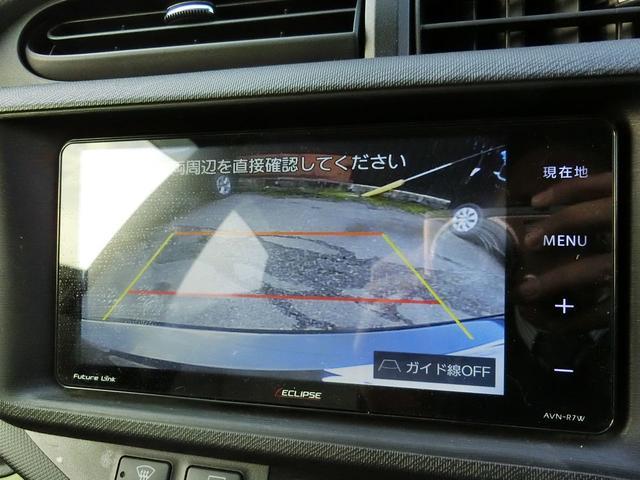 トヨタ アクア S イクリプスメモリーナビ フルセグTV バックカメラ