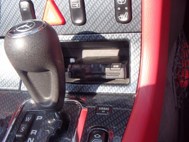 SLK230コンプレッサー 赤革シート ワンオーナー車(18枚目)