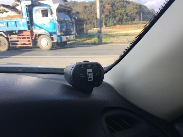 コーナーセンサー付きでバック駐車もラクラク!!