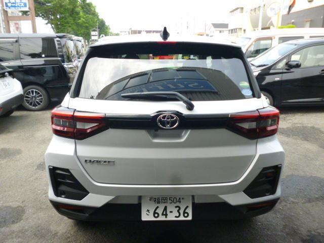 「トヨタ」「ライズ」「SUV・クロカン」「福岡県」の中古車3