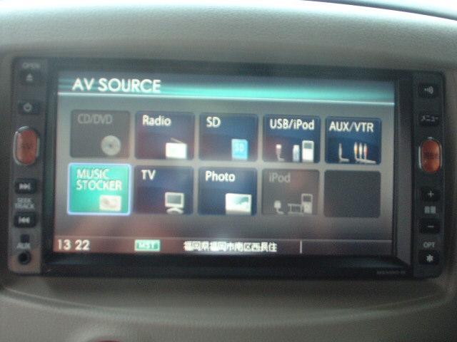 日産 キューブ 15X Mセレクション ナビ フルセグ Bカメラ 2年保証