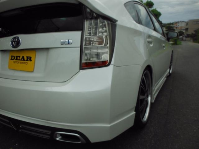 トヨタ プリウス S新品車高調19インチテラフォースエアロ ナビテレビ