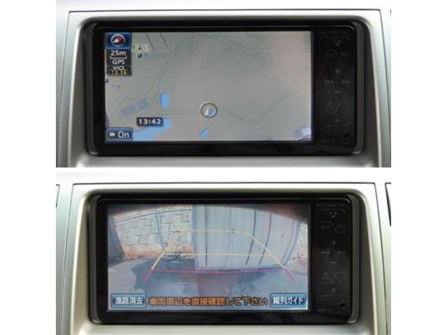 トヨタ エスティマ Gエディション HDDナビDTV フリップダウンモニター