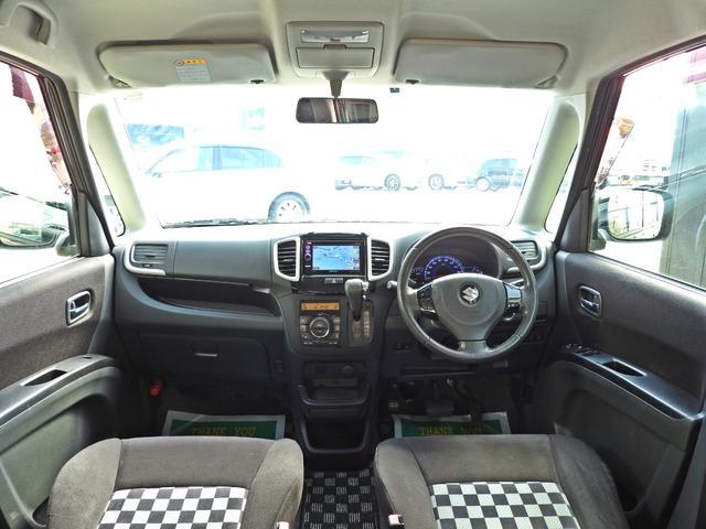 ブラック&ホワイト 社外SDナビ・DTV・スマートキー・ETC・シートヒーター・両側パワースライドドア・HIDライト・LEDイルミネーション(5枚目)