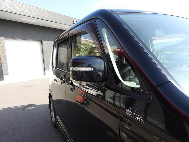 ブラック&ホワイト 社外SDナビ・DTV・スマートキー・ETC・シートヒーター・両側パワースライドドア・HIDライト・LEDイルミネーション(20枚目)